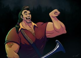 Gaston by nixuboy
