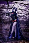 Daughter of Trigon [Raven Teen Titans] by Blossom-of-Faelivrin