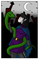 Almalinda - Alma and Snake by HGuyver