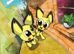 Pichu Ponies by WillDrawForFood1