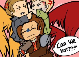 SPN: Samifer/Sabriel/OT3? by LuciferianRising