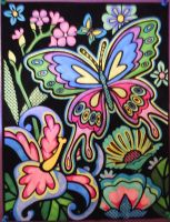 Psychedelic Butterfly by PsychedelicAdventure