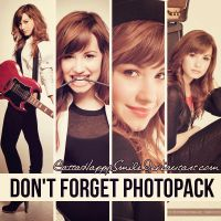 Don't Forget Photopack by CattaHappySmile