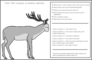 TEF Make-a-deer meme by Rinji-chan