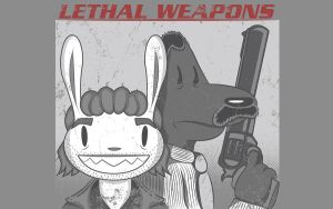 Lethal Weapons T-shirt Design by alsnow