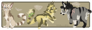Themeadopts Chibis -2/3 OPEN- by ElectricSilence
