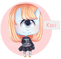 Kaii- New OC by KoRe-MiChI
