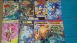 My Sonic Comics Collection 2 by shadowthehedgehog145