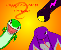 happy new year! by livinlovindude