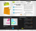 Creative Nation site by evolutiongraphic