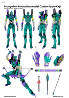 Eva Unit XX - Rebuild by ArtistMeli