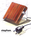 Wooden toaster by w0lfb0i