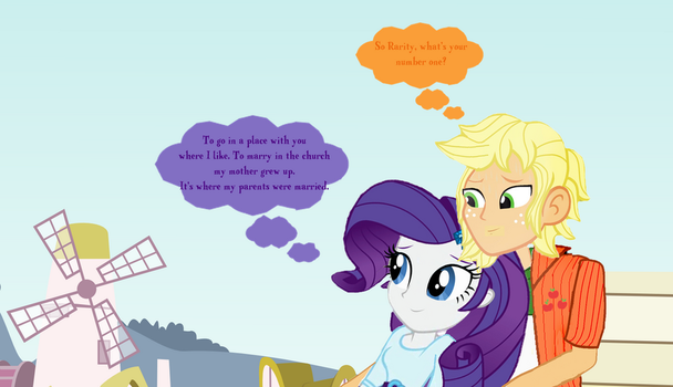 A Walk To Remember (RariJack Edition) by hectorcabz