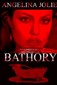 Angelina jolie  as Elizabeth Bathory by Creativemohamedadel