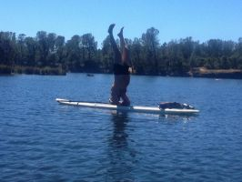 SUP Headstand by Gianni36