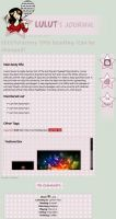 LULUTsFactory (Commission Journal CSS) by CypherVisor