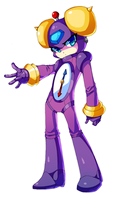 megaman-timeman being timeman by Nyaph