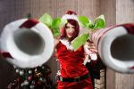 Candy Cane Miss Fortune by magmasaya