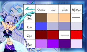 Mary Color code NEW by Winx-Bunny