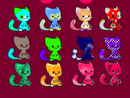 Kitty Adopts by Queen-Sombrea