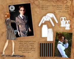 Ten Suit buyers packet layout by Tess-san