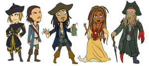 PotC: stickers by LizCoshizzle