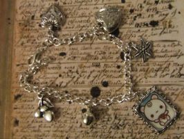 kitty bracelet by TheLovelyBoutique