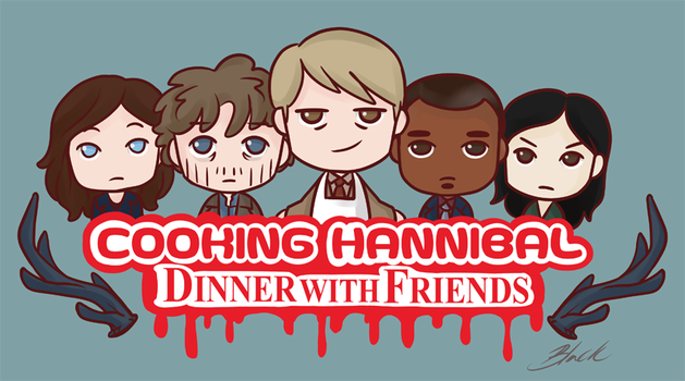 Cooking Hannibal - Dinner with Friends by caycowa