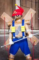 Puppetmon cosplay by WaChuLeRuXx