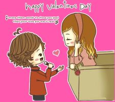 Happy valentines day!! by Charystyles