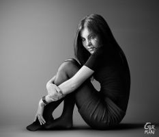blanca black and white by gerbenher