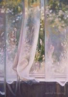 A Gentle Breeze - OIL PAINTING by AstridBruning