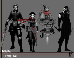 LRRH: The Lineup by rytango