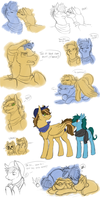 Quill and Sketch Nonsense Dump 2 by The-Chibster