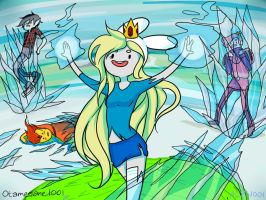 Fionna the Ice Queen by Otamegane1001