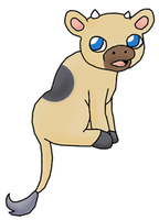 Fakemon:  Calffint by Ket-Shi