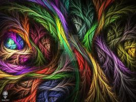 Psychedelic Wool by psion005