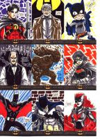 Batman: The Legend Sketch Cards 3 by OptimusPraino