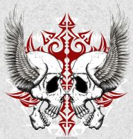 Twins of Death by Oblivion-design