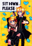 Kagamine Twins - Remote Control by LilHeart