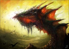 Typical dragon by Schur
