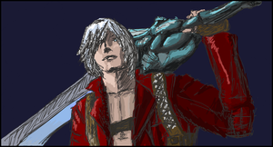 Dante -on iScribble by MMO-Rehab