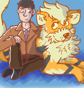Looker and Arcanine by Furresoto