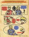 Hetalia - France and England, 1649 (page 1/2) by HeroicPlights