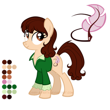 Reference Sheet: Sarah Jane Smith by LissyStrata