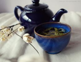 Jasmine tea by Sato-photography