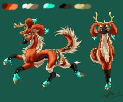 Cervihund - Jalli by SilverFlight