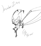 ..Invader Zim Sketch.. by Bjorkan