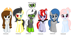 MLP Adopts 4# (BIDDING) (Music Themed) by PinkPopcornWithSoda