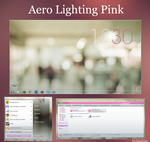 Aero Lighting II [PINK] [Style Visual] by TutosVaalu